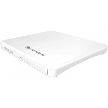 Transcend Portable DVD Writer - Extra Slim - USB2.0 - Wit