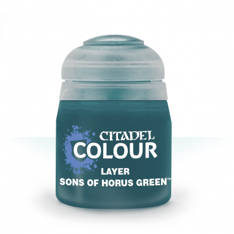 Warhammer Citadel - Layer Paint Sons of Horus Green 12ml