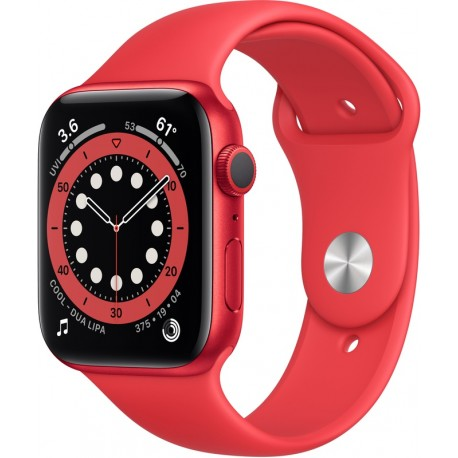 Apple Watch Series 6 Sport 44mm Red (Red Sportband)